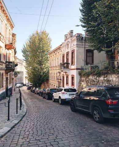 "Romantic apartment in Villa ""Palatyn"""