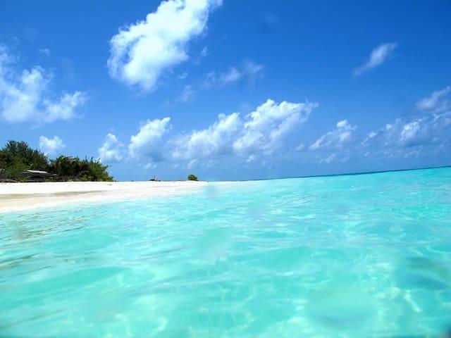 Isola deserta Maldive