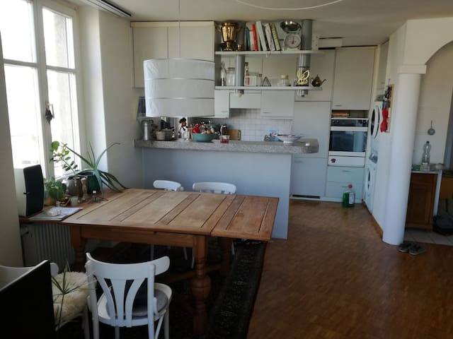 Sunny & spacious flat in the heart of Zurich