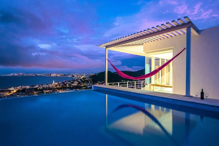 Amazing PH Ocean&Bay View, Plunge Pool, 200mbWiFi