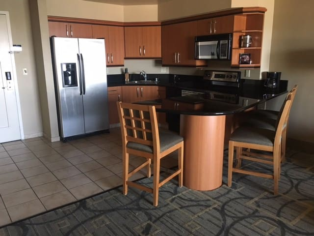 Princess Suite @ Platinum-1BR 2 Queen w Full Ktchn