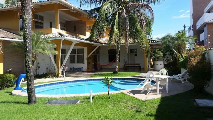 Casa de Luxo com piscina em Ilhéus na melhor praia - Ilhéus - Dům