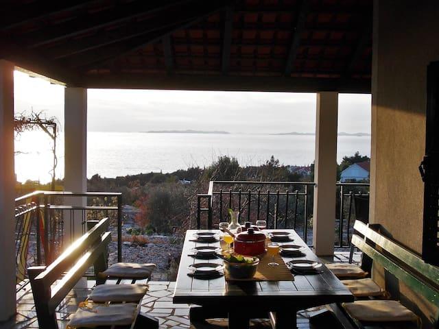 Vila Huljerat Fantastic Sea view - Primošten - Huis