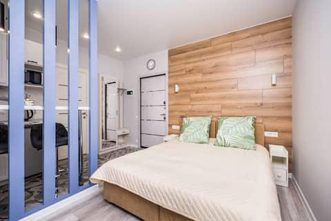 1. Κομψό Design Studio σε ένα νέο σπίτι