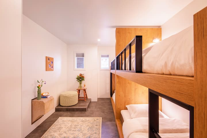 STAY FRIENDLY IN OUR BUNK ROOM FOR 4 WITH EN-SUITE
