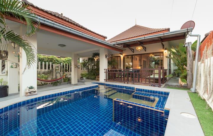 Mojo Premium Pool Villa in Hua Hin 102 (2 BR)
