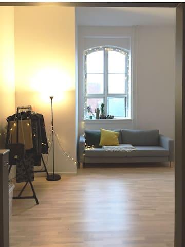 Studio with mezzanine in vibrant Nørrebro - Копенгаген - Квартира