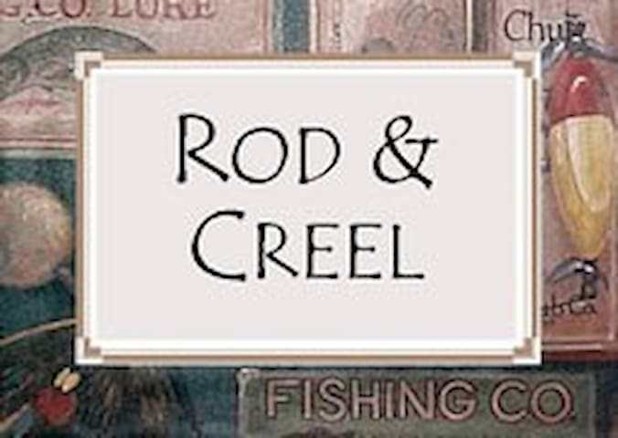 Rod & Creel Room @ Blue Heron Inn - Findley Lake