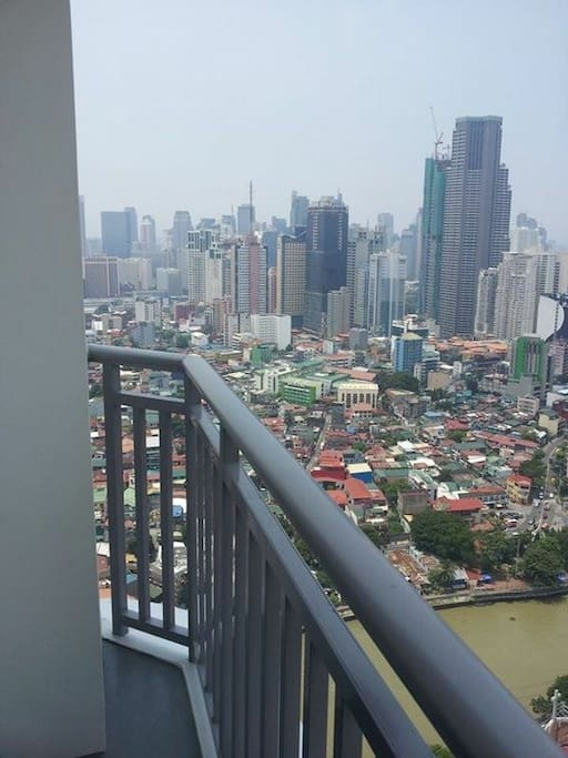 Balcony and city view