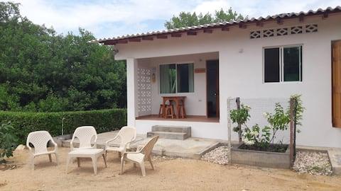Habitación independiente mejor playa de Coveñas