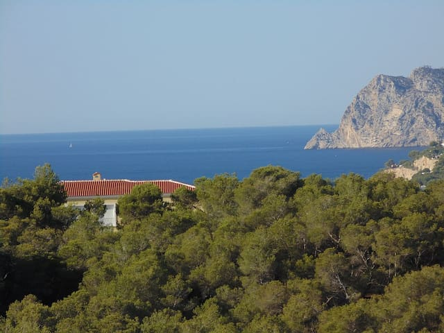 Luxury villa with stunning sea view - Moraira - Talo