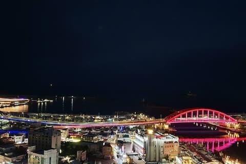 ♡썬라이즈 호텔 최고층 2005호♡:호수, 바다뷰/아바이마을,중앙시장,원투낚시 도보 이동