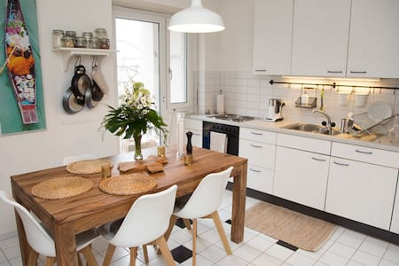 Designer decorated apt only 1 min from BASELWORLD - Basel - Íbúð