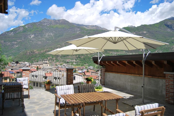 b&b Casa Val, Camera Jazz - Quincinetto - Bed & Breakfast