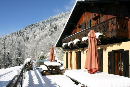 chalet 5 bedrooms / 5 bathrooms - MONTRIOND