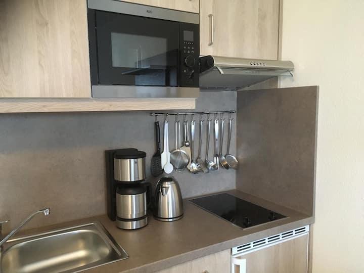 Appartementhaus Reiterhof (Bad Füssing), FW3 Neue 2-Zimmer Ferienwohnung mit 2 Badezimmern (1-3)