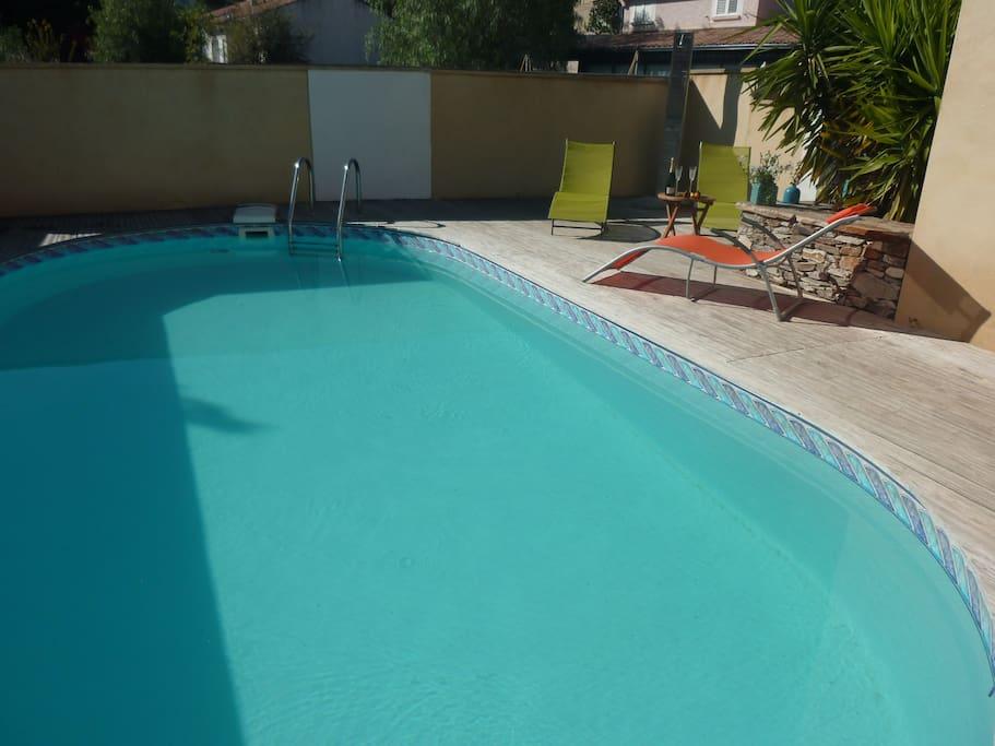 Villa t3 centre st flo piscine maisons louer saint for Piscine saint florent