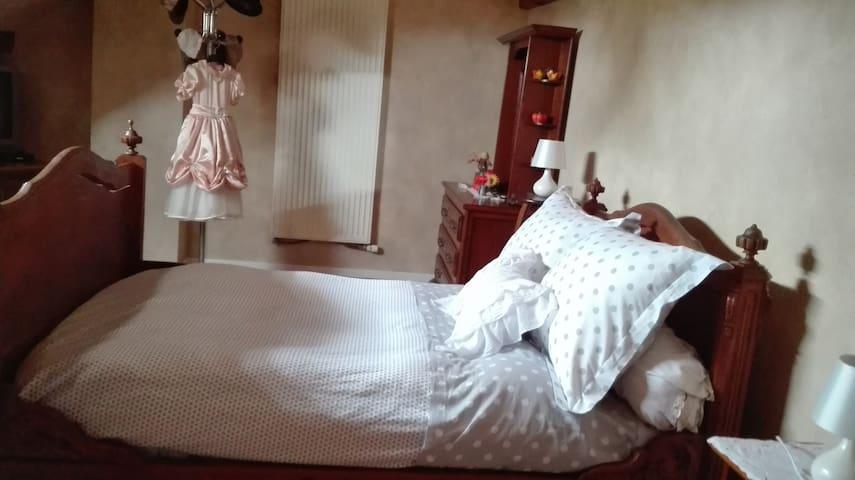 """Les chambres """"Les Jumelles"""" - Sermérieu - Appartement"""