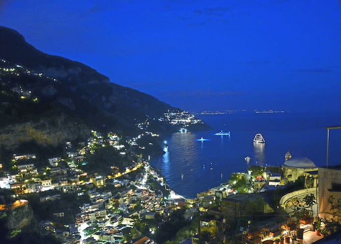 La C asarella Positano Quite place Wi-Fi Sea view