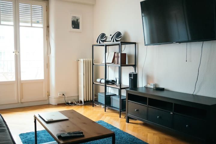 Beautiful Apartment w/Balcony (Plainpalais)