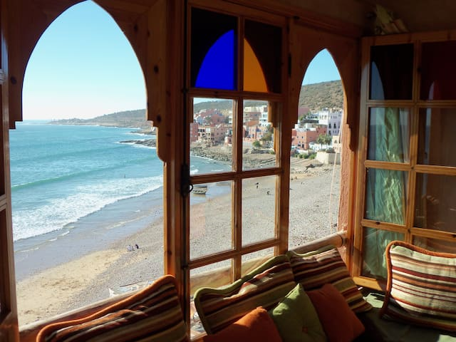 Seaside TOP-Floor Apartment with VIEWS, SURF & SUN - Taghazout - Flat