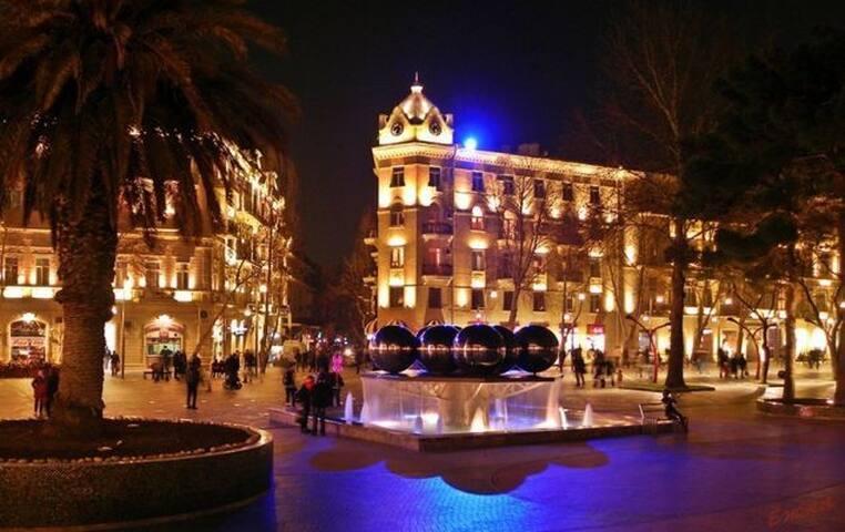 Fountain Square Apartment