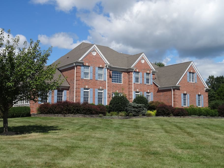 Lovely, traditional center hall colonial on 2 acres