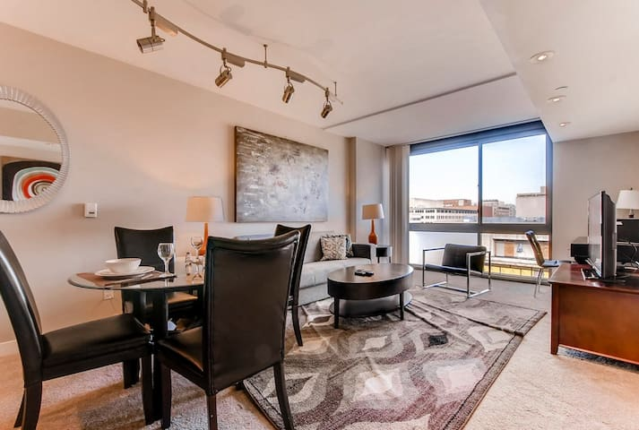 Spacious Furnished 1BR Apt near DCs National Mall