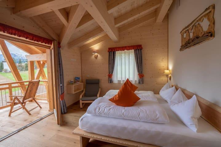Camera Calendula con vista sulle Dolomiti