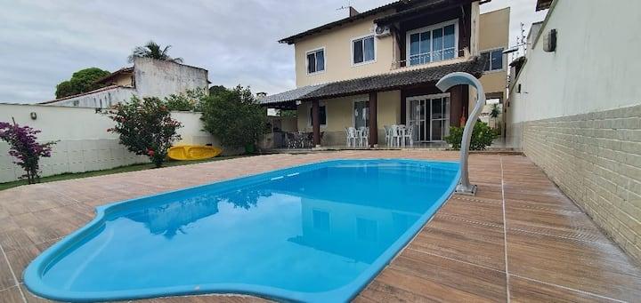 Casa luxo para temporada em Morada do Sol/ lagoa