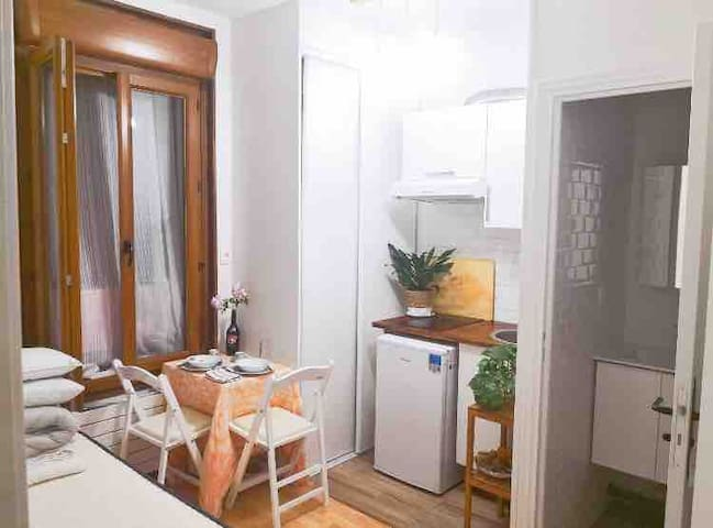 Warm & Romantic Studio can also be Long-term Rent