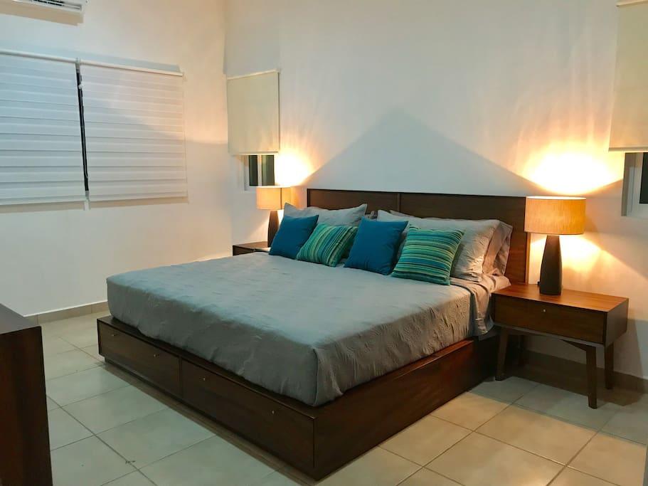 Habitación Puebla - Cama King