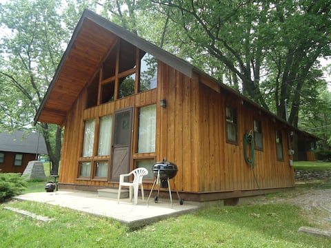 Chalet-style cabin, just steps to the beach (#7)