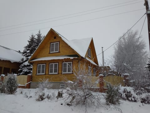 House for a comfortable stay near Suzdal