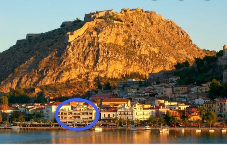 Sophie's choice, in the heart of Nafplio