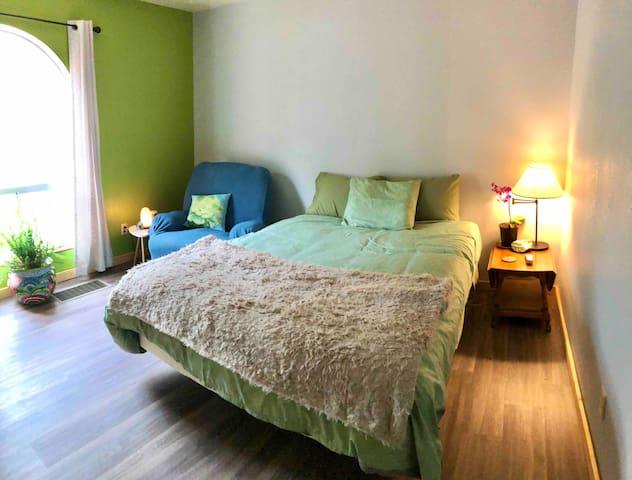 Zen Room in Community Style Home