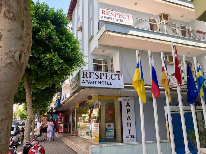 Respect Apart Hotel in the center of Alanya