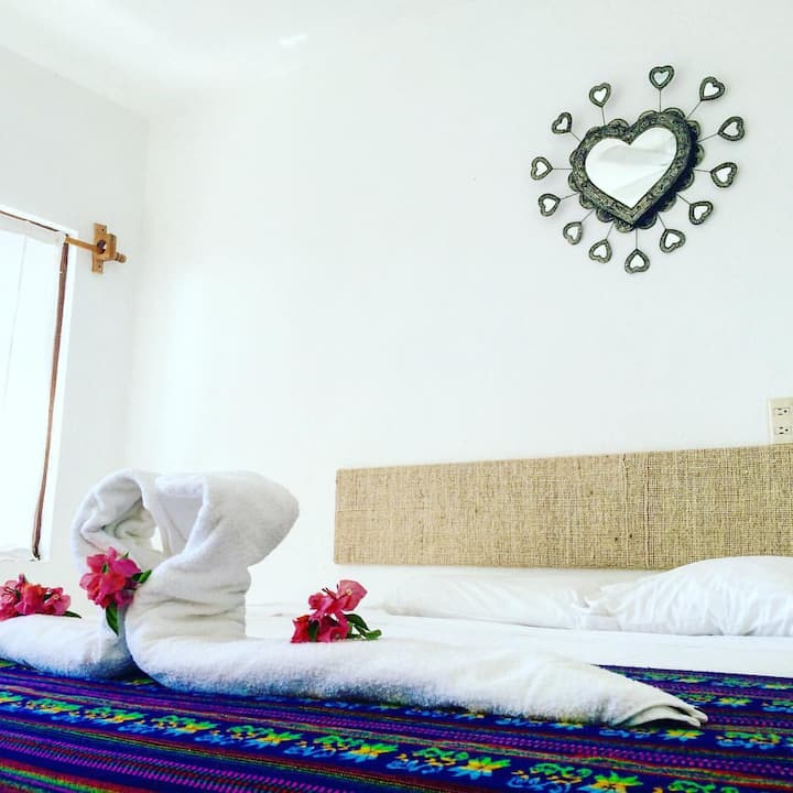 Healing Heaven Kingsize Bedroom @los_milagritos