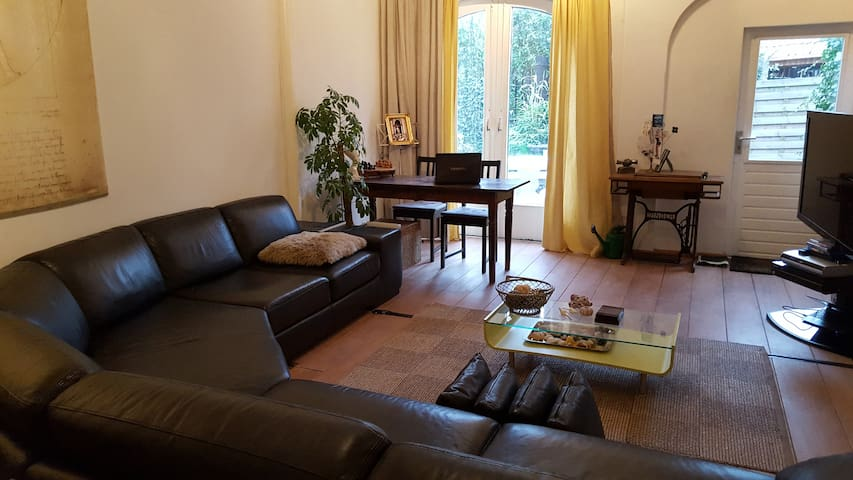 Beautiful apartment with big garden - Naarden - Wohnung