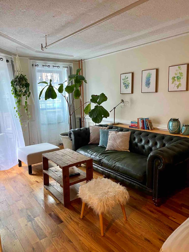 Brooklyn Garden Apartment
