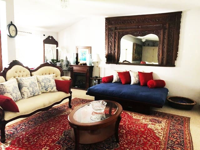 Elegant Spacious Private Room ~ Upscale Berkeley