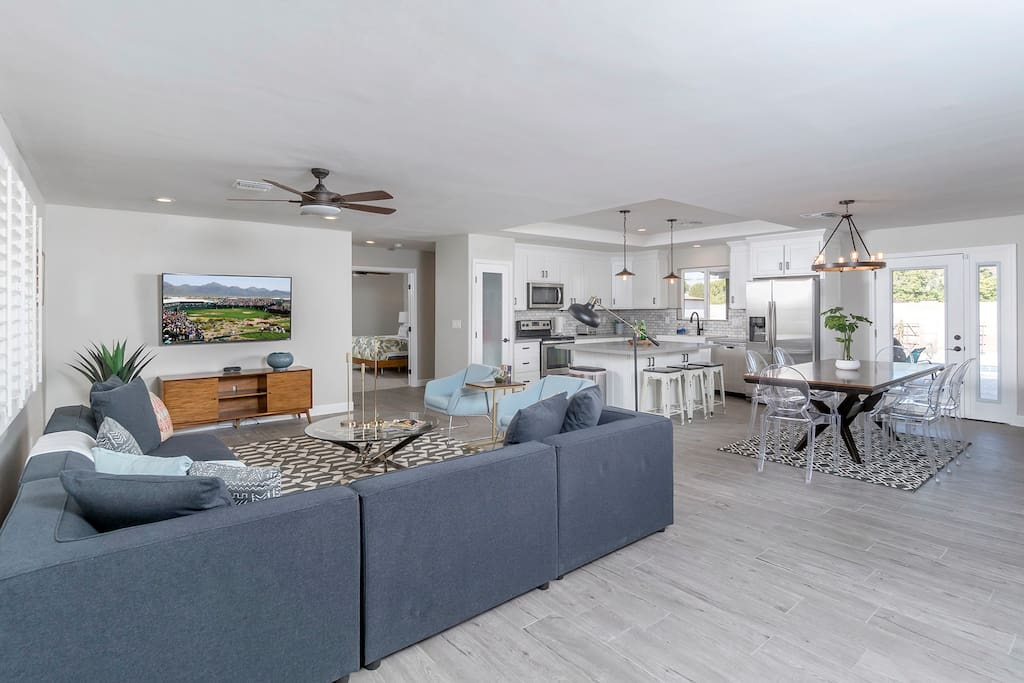 Incredible 4 bedroom 3 bath newly renovated home in the heart of the Scottsdale!
