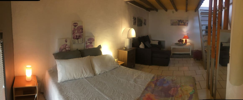 "joli Maison village calme, terrasse, ""grand site"" - Saint-Jean-de-Fos"