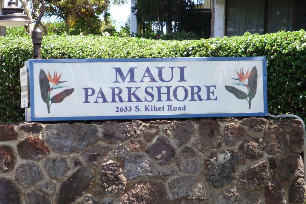 Across from Kamaole Beach park 3