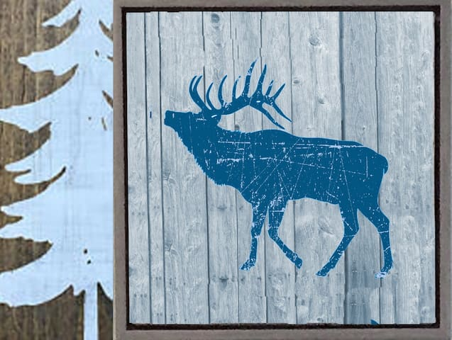Elk Lodge - private - WIFI+cable ⭐⭐⭐⭐⭐