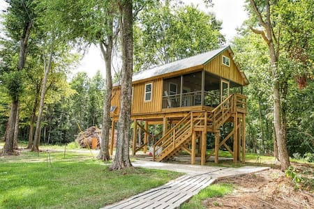 Greene's Pond Treehouse - Elizabethtown - Cabaña