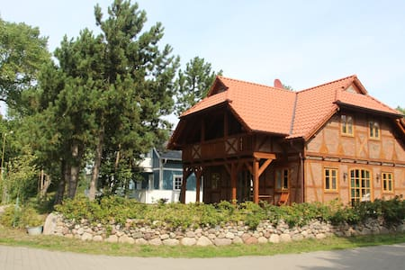 Exklusives Ferienhaus direkt am Kitespot in Wiek - House