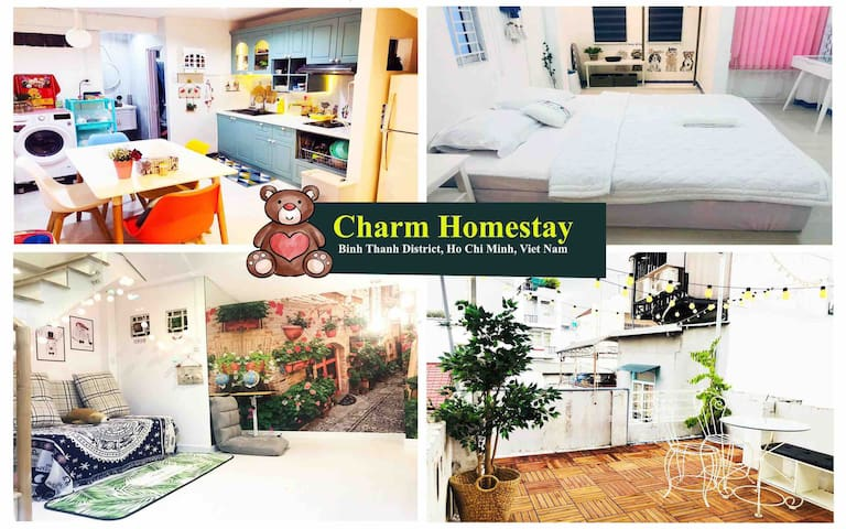Charm Homestay ★Cozy home in the heart of the city