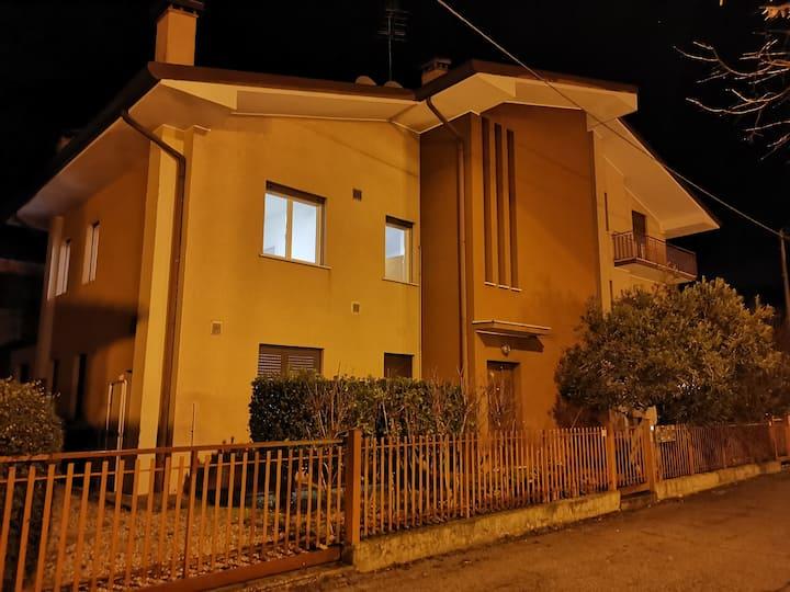 La suite 2 nel verde a Frescada di Treviso
