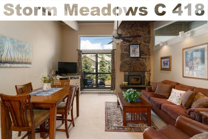 Discounted lift tickets! Perfect Steamboat Condo With Hot Tub & Pool! -  Storm Meadows C 418